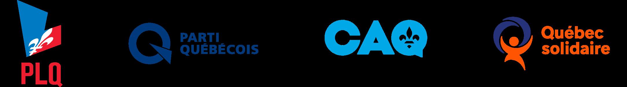 Logos des partis ensemble_long